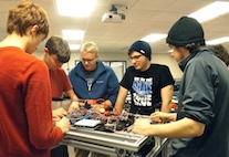The Label Printers sponsors FIRST robotics team