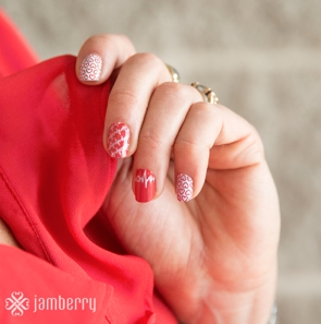 Jamberry Seeing Red at NYFW