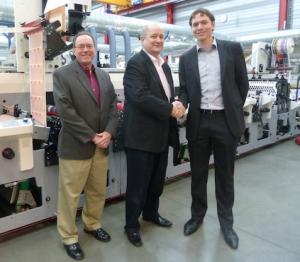 Bizerba USA purchases MPS EF flexo press