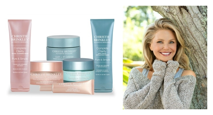 Christie Brinkley Launches Skincare Line Beauty Packaging