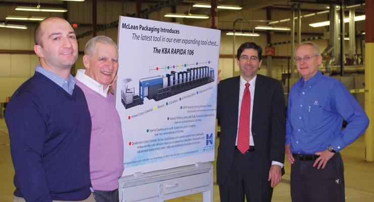 McLean Packaging Adds New Press Technology