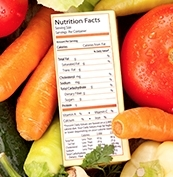Labels for National Nutrition Month
