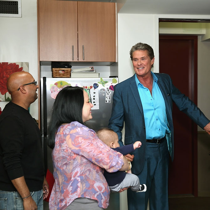 Hoff Is in the House!