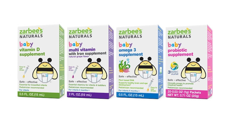 Zarbee's Launches Supplement Line for Babies & Toddlers
