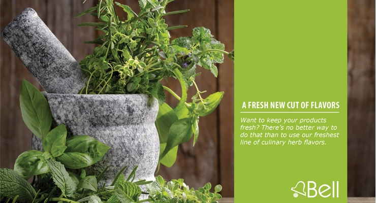 Bell Debuts Fresh Herb Flavors Line