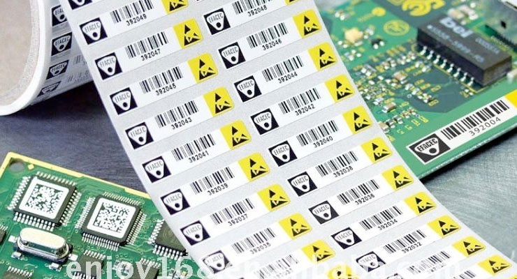 Polyonics label materials meet out-gassing requirements