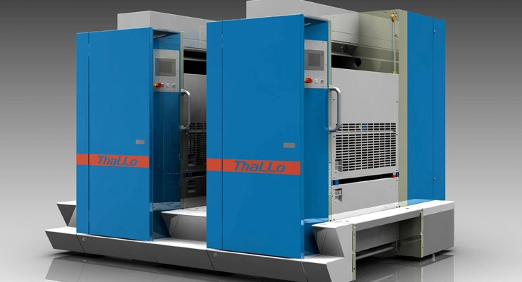 Thallo web offset printing press
