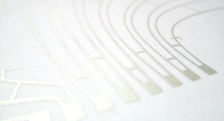 Printed electronics and the label printer