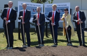 Kocher + Beck USA celebrates groundbreaking of facility extension