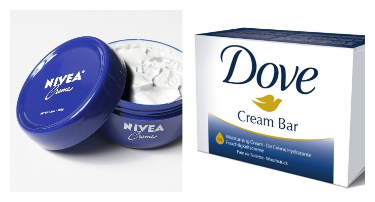 Dove & Nivea Battle Over Blue - Is it the Best Color for Beauty Packaging?