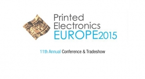 Printed Electronics Europe 2015 to Showcase PE's Growth
