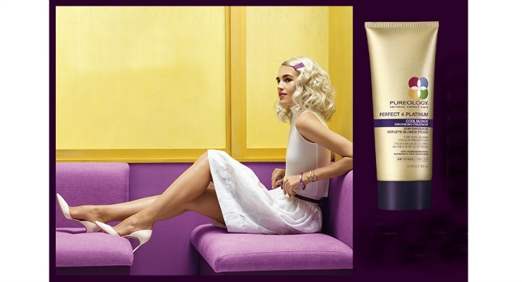 Pureology Launches New Blonde Treatment for Summer