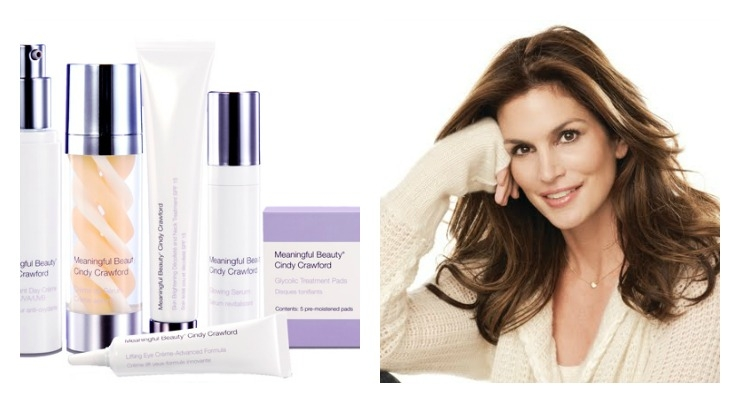 New Social Media Campaign For Cindy Crawford's Meaningful Beauty - Beauty  Packaging