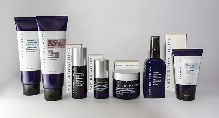 Naturopathica Holistic Health turned to WS Packaging to assist with a cohesive,  consumer-friendly look for its 33-SKU line of skin care products.