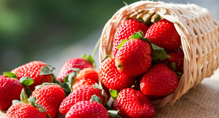 Strawberries contain fiber, vitamins, minerals and antioxidants.