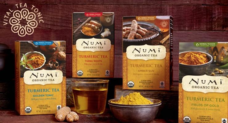 Numi Launches Turmeric Tea Line