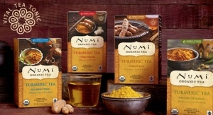 Numi Launches Turmeric Tea Line