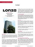 Lonza - Coatings World